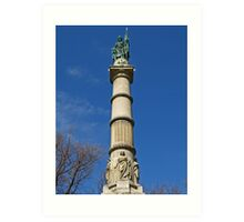 Soldiers and Sailors Monument Art Print
