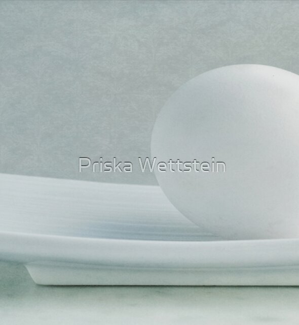 Still life with an egg by Priska Wettstein