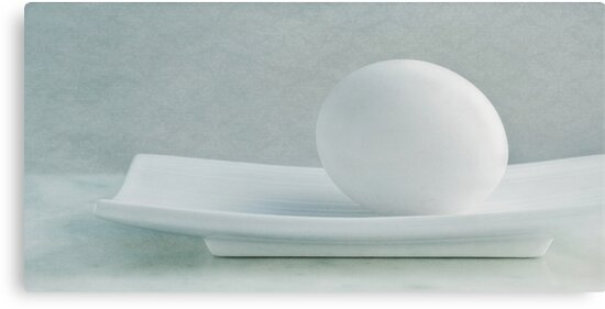 Still life with an egg by Priska Wettstein
