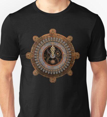 Infernal Steampunk Vintage Clock Face T-Shirt