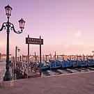 Venetian Gondolas by shutterjunkie
