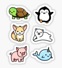 Cute Animal Sticker Pack 1 Sticker