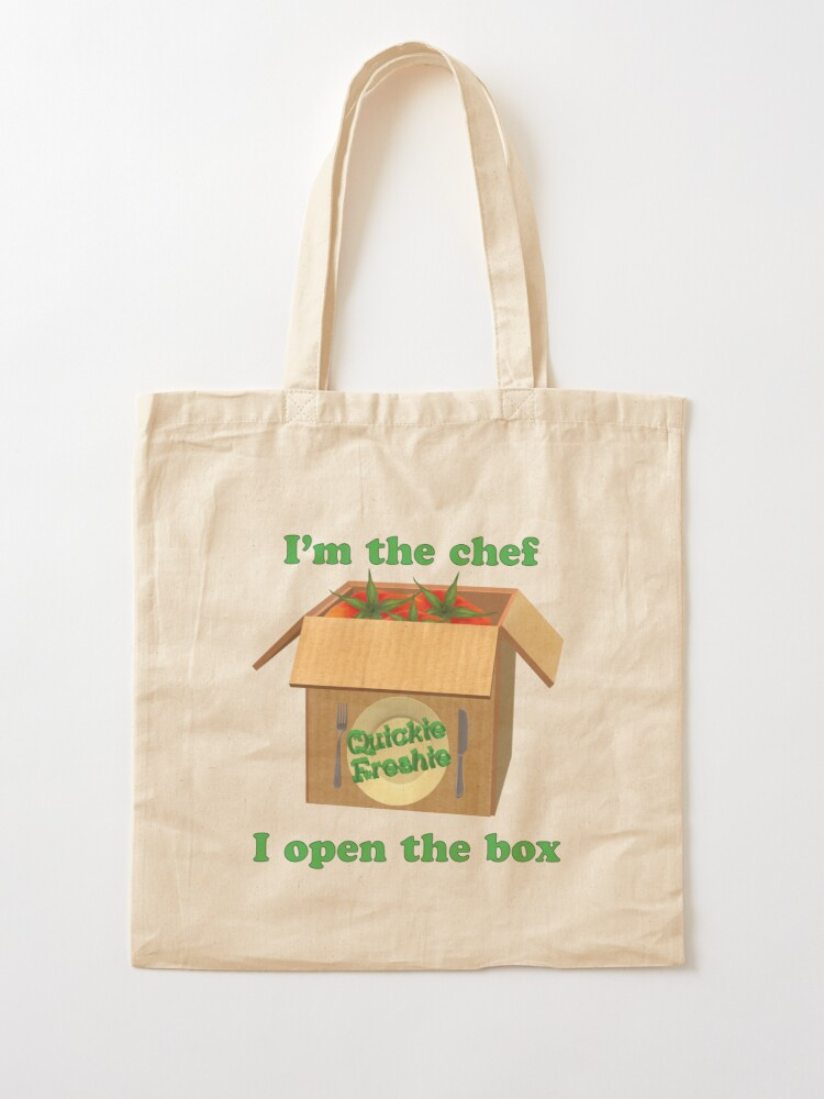 Alternate view of Boxed Meals. Cooking in the 21st Century. Tote Bag