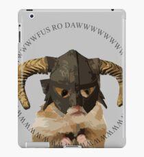 Fus Roh Dawwwwwwww iPad Case/Skin