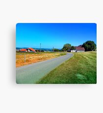 Another country road in summertime Canvas Print