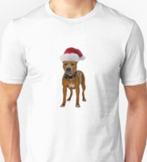 Pit Bull Christmas Unisex T-Shirt