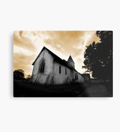 St Mary's Church Silchester Metal Print