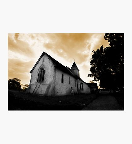 St Mary's Church Silchester Photographic Print