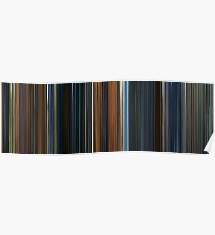 Moviebarcode: The Lord of the Rings: The Fellowship of the Ring (2001) Poster
