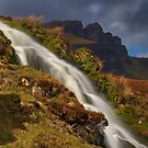Storr Waterfall by Karl Williams