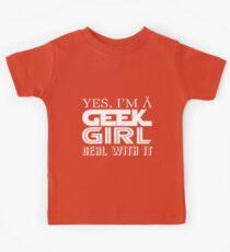 Geek Girl Kids Clothes