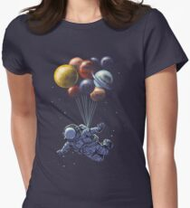Space Travel Women's Fitted T-Shirt