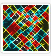 Abstract colors | laser shapes Sticker