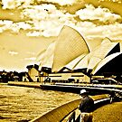 One golden day in Sydney... by Kornrawiee