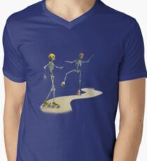 Oops  Men's V-Neck T-Shirt