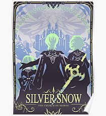Silver Snow Poster