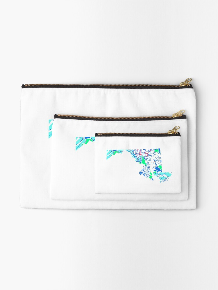 Alternate view of Lilly States - Maryland Zipper Pouch