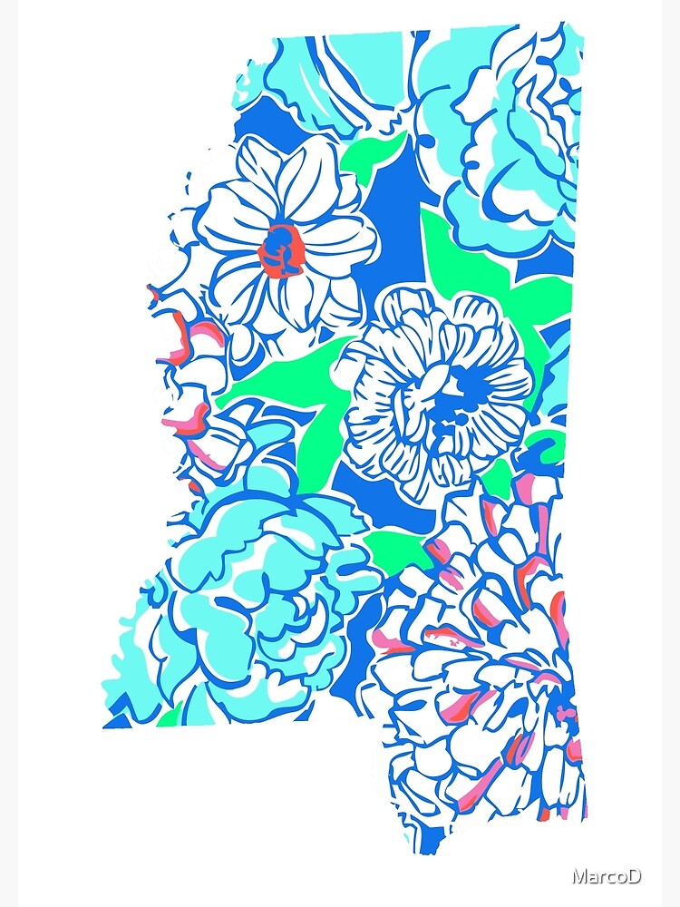 Lilly States - Mississippi by MarcoD