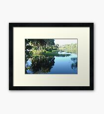 Rainbow River ~ Dunnellon, Florida Framed Print