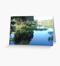Rainbow River ~ Dunnellon, Florida Greeting Card