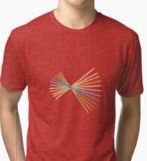 Colour Spiral Tri-blend T-Shirt