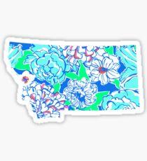 Lilly States - Montana Sticker
