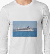 Norwegian Jade liner, Corfu T-Shirt