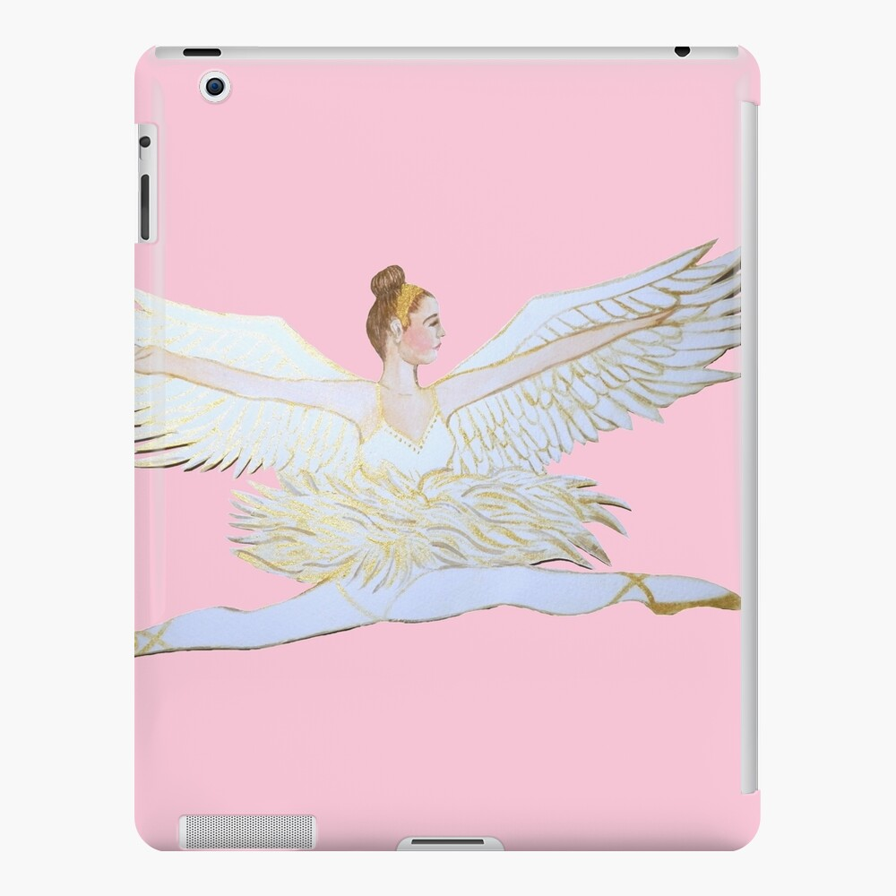 Christmas angel from the Nutcracker Ballet iPad Case & Skin