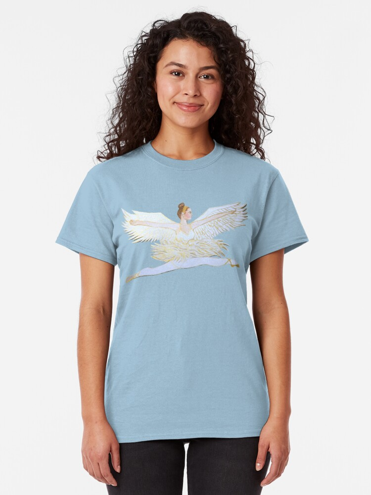 Alternate view of Christmas angel from the Nutcracker Ballet Classic T-Shirt