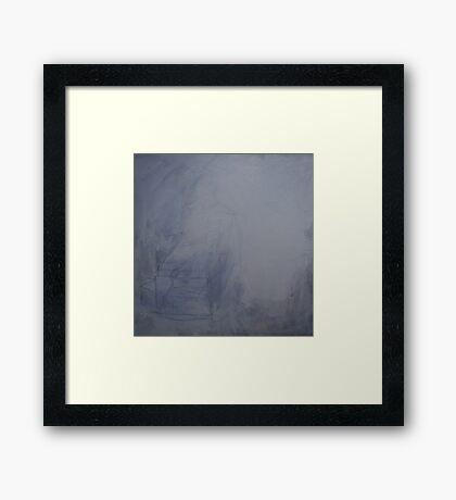 Erase Framed Print