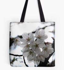 Akebone Flowering Cherry Tree  Tote Bag