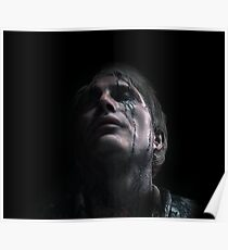 Cliff Unger | Death Stranding | CLIFF FROM DEATH STRANDING Poster