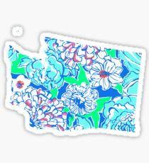 Lilly States - Washington Sticker