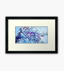 Homelands - Abstract CG Framed Print