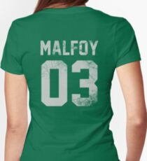 Malfoy jersey Womens Fitted T-Shirt