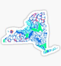 Lilly States - New York Sticker