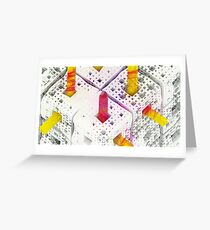 Matthew 6:28 - Abstract CG Greeting Card