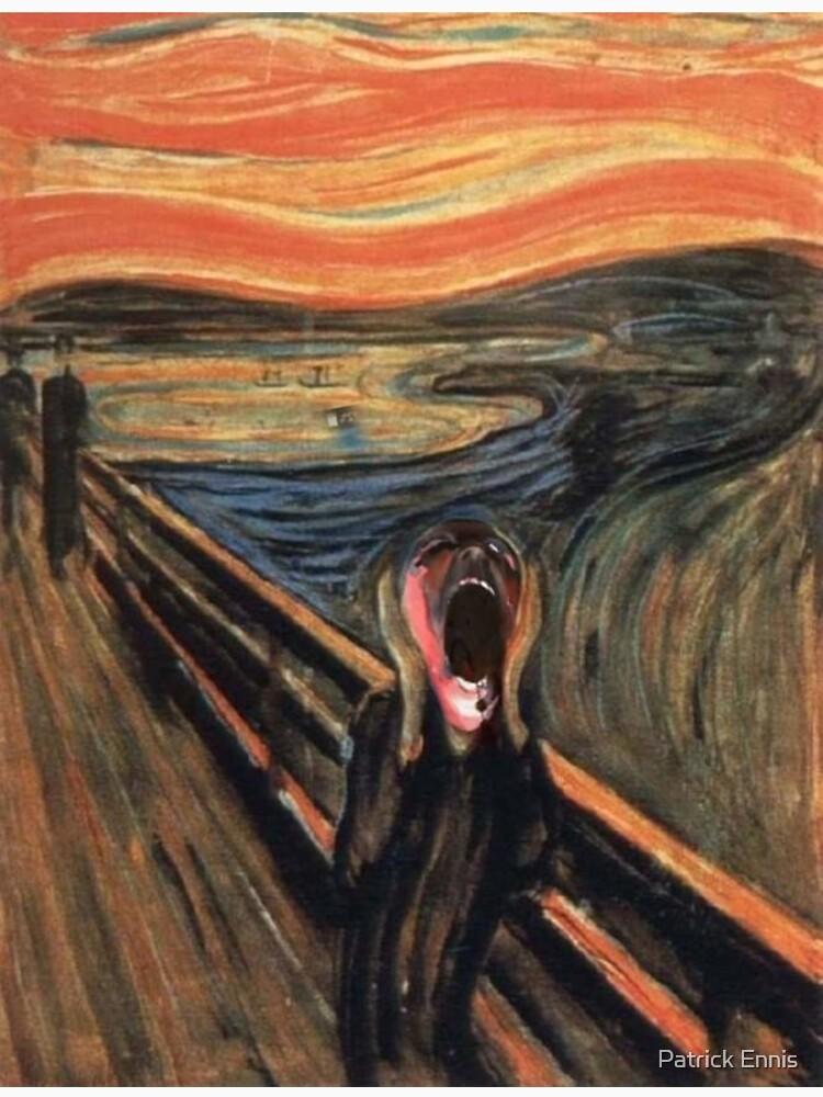 pink scream by PatrickEnnis