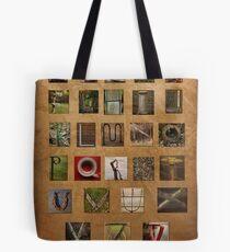 Alphabet Again Tote Bag
