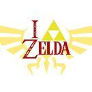 I <3 Zelda - White by elventhespian