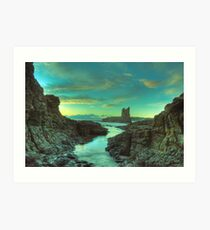 Cathedral Rocks at Dawn Art Print