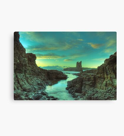 Cathedral Rocks at Dawn Canvas Print