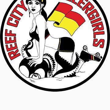 Reef City Roller Girls Sticker by reefcityrg