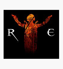 Resident Evil - Alice Abernathy Photographic Print