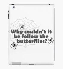 follow the spiders iPad Case/Skin