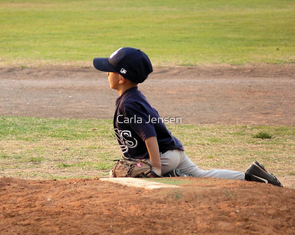 A Pitcher's Stance by Carla Jensen