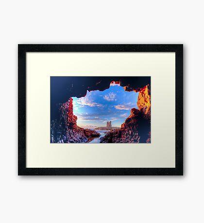 Fantasy Dawn Framed Print