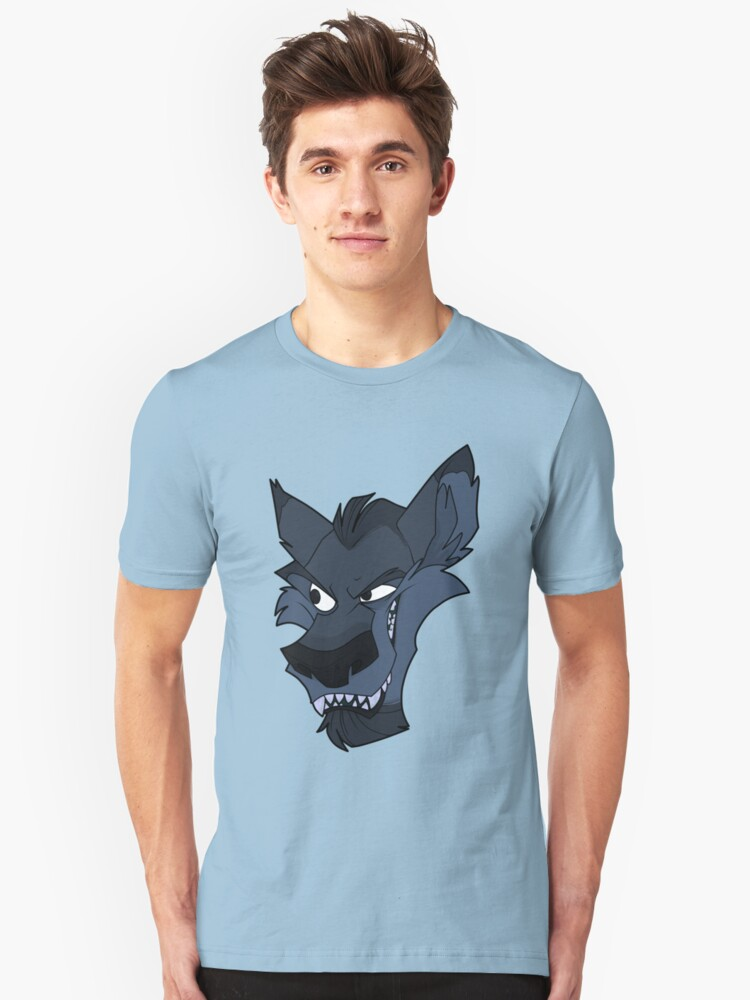 Big bad blue wolf by The Tundra Ghost