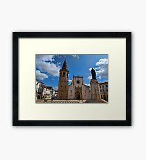 Church of Sao Joao Baptista in Tomar Framed Print