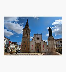 Church of Sao Joao Baptista in Tomar Photographic Print